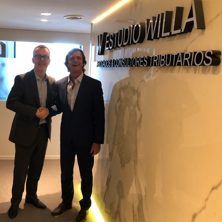 Andres Willa (Senior Partner EW) and Stuart Miller (MD of WLN), 26 Jan 2018