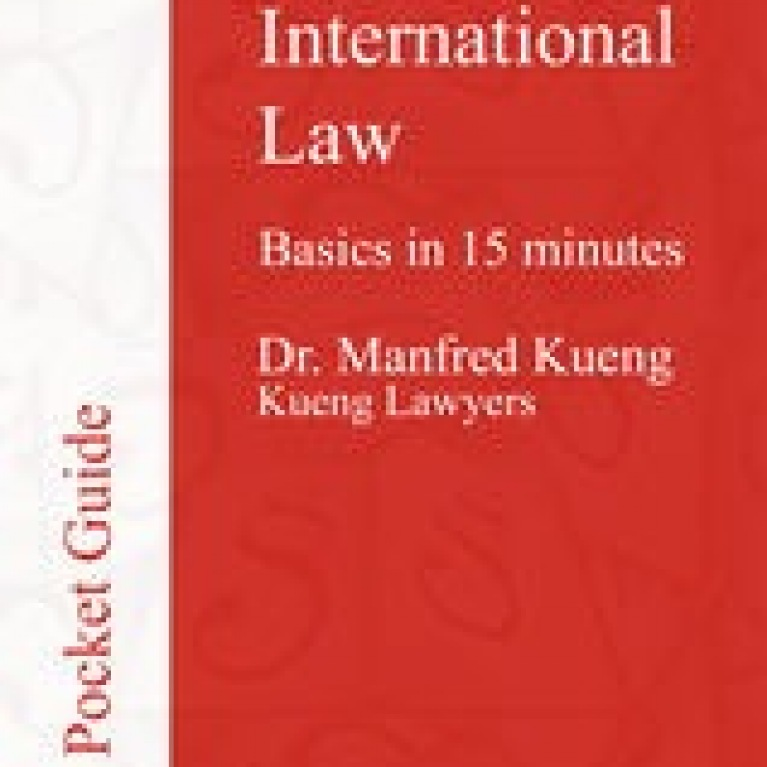 International Law - Basics in 15 Minutes (cover)
